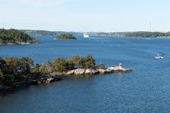 Archipelago near Stockholm Royalty Free Stock Image