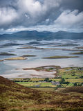 The archipelago near Westport from the road to Croagh Patrick, I Royalty Free Stock Photo