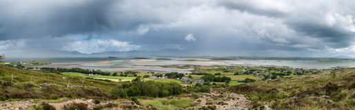 The archipelago near Westport from the road to Croagh Patrick, I Stock Photo