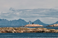 Archipelago in northern Norway Royalty Free Stock Photo