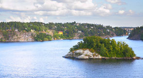 Archipelago of Stockholm Royalty Free Stock Photos