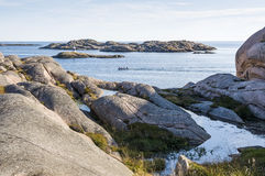 Archipelago view Swedish West Coast archipelago Stock Photo