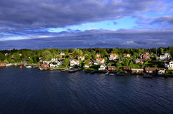 Archipelagos Near Stockholm Sweden Stock Photography