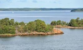 Archipelagu morze morze bałtyckie Fotografia Stock