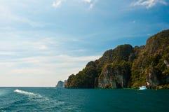 archipelagu wysp ket pru Thailand tropikalny Obrazy Royalty Free