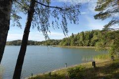 Archipiélago de Finlandia en el sureste Foto de archivo libre de regalías