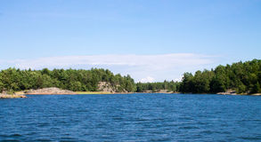 Archipiélago finlandés Imagen de archivo libre de regalías