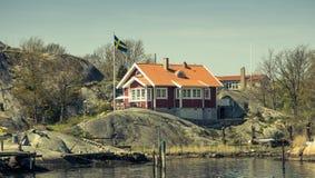 Archipiélago hermoso de Goteburgo - Suecia imagen de archivo