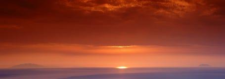 Archipiélago toscano Imagen de archivo libre de regalías