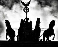 Archirecture de Berlim Olhar artístico em preto e branco fotografia de stock royalty free