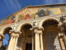 Architacture santamente do baruque de jerusalem da cor Imagem de Stock