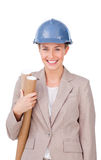 Architec woman Stock Image