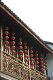 Architeccture tradizionale del sud della Cina Immagini Stock Libere da Diritti