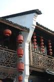 Architeccture tradizionale del sud della Cina Fotografia Stock Libera da Diritti
