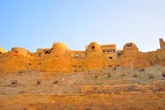 Architechture του χρυσού οχυρού Jaisalmer Στοκ φωτογραφίες με δικαίωμα ελεύθερης χρήσης