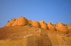 Architechture του χρυσού οχυρού Jaisalmer Στοκ εικόνες με δικαίωμα ελεύθερης χρήσης