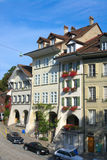 Architechture av Zurich Arkivbilder