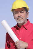 Architect, Builder, Contractor Stock Photo