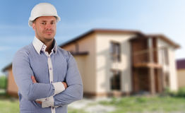 Architect, builder or structural engineer Stock Image