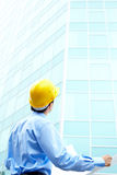 Architect and building Stock Images