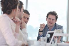 Architect business team on meeting Stock Image