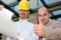 Architect and businessman Stock Photos