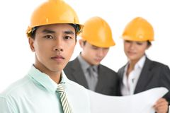 Architect in chief Royalty Free Stock Image