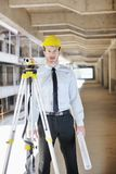 Architect on construction site Stock Photography