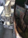Architect David Adjaye exhibition in Garage Museum. Gorkiy Park, Moscow Stock Photography