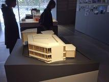 Architect David Adjaye exhibition in Garage Museum. Gorkiy Park, Moscow Stock Image