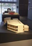 Architect David Adjaye exhibition in Garage Museum. Gorkiy Park, Moscow Stock Images