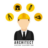 Architect design Stock Photo