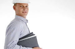 Architect with documents Royalty Free Stock Images