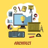 Architect or education concept Stock Photography