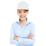 Architect, Engineer Or Entrepreneur Business Woman Royalty Free Stock Image