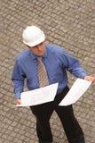 Architect Examining stock image