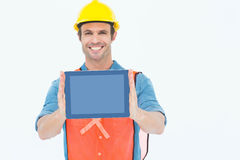 Architect holding digital tablet Royalty Free Stock Photography