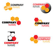 Architect or honey logo Royalty Free Stock Photography