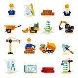 Architect Icons Set Royalty Free Stock Image