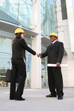 Architect Meeting Client Stock Image