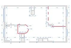 Architect plan Stock Photography