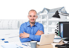 Architect portrait Stock Images