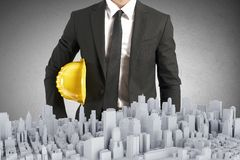 Architect project Royalty Free Stock Images