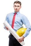 The architect is a real man& x27;s profession Stock Photography
