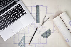 Architect's office Royalty Free Stock Photography