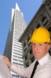 Architect in San Francisco Royalty Free Stock Images