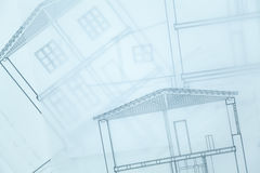 Architect Sketch. Royalty Free Stock Images