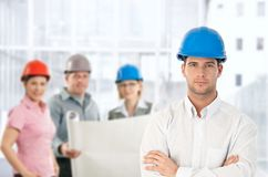Architect team in office Royalty Free Stock Images