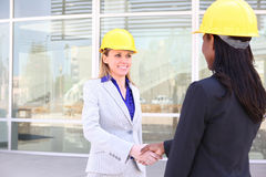 Architect Team on Site Stock Photography