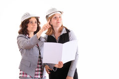 Architect women Stock Images